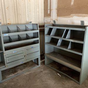 Shelves For Work Van for Sale in St. Petersburg, FL