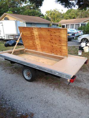 5' x 8.5' utility trailer for Sale in BELLEAIR BLF, FL