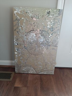Mosaic mirrored picture gorgeous for Sale in Murfreesboro, TN