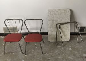 Vintage 1950s children's table and chairs for Sale in Ingleside, IL