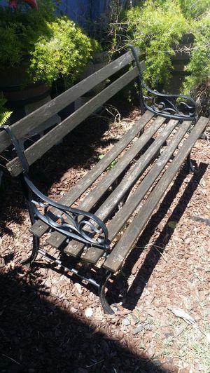 Cast Iron Garden Bench for Sale in Martinez, CA