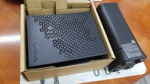 Modem and router new open box price negotiable for Sale in Tampa, FL