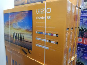 "58"" LED SMART 4K ULTRA HDTV BY VIZIO. 1 year WARRANTY for Sale in Los Angeles, CA"