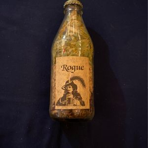 VINTAGE ROGUE DEAD GUY ALE RAW MATERIALS GLASS BOTTLE CAP RARE for Sale in Boring, OR