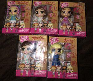 6 Brand New Boxy Girls Mini Dolls for Sale in Lake Elmo, MN