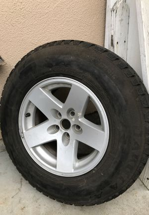 Spare Jeep wheel & tire for Sale in Salinas, CA