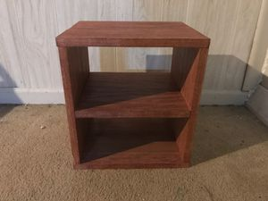 Small Handmade poplar wooden bookshelf or children's nightstand. for Sale in Emmaus, PA