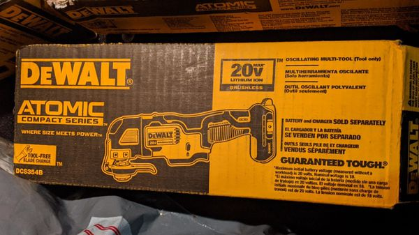 DeWalt atomic multi tool