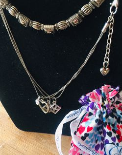 Brighton Necklace And Bracelet With Dust Bag New for Sale in Salt Lake City,  UT