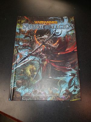 Storm of magic warhammer supplement book for Sale in Saint Joseph, MO
