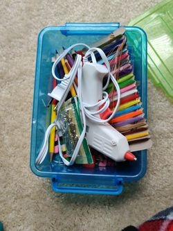 Craft Supplies And Box for Sale in Manassas,  VA