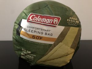 "Coleman 50F 75"" Warm Weather Comfort Smart Sleeping Bag for Sale in Buffalo Grove, IL"