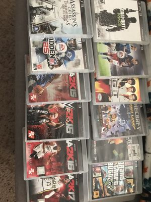 PS3 & 12 DVD's for Sale in Lawrenceville, GA
