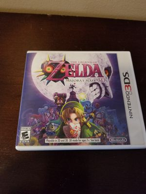 Zelda (Majora's Mask) (3DS) for Sale in Louisville, KY