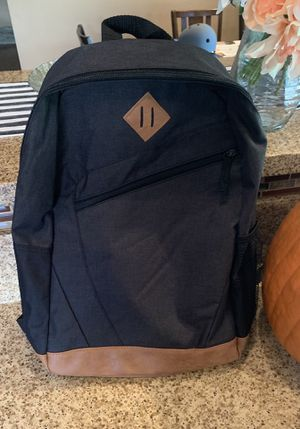 New Black Backpack with Laptop Pocket. for Sale in March Air Reserve Base, CA