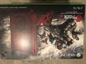 Xbox One S 2TB Limited Edition Console - Gears of War 4 Bundle for Sale in Fort Worth, TX