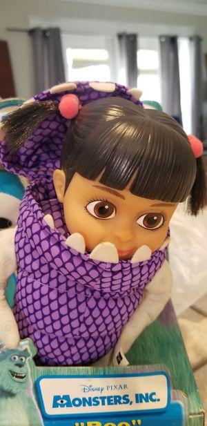 MONSTER INC 2001 BOO plush doll in Monster costumeRARE for Sale in Miami, FL