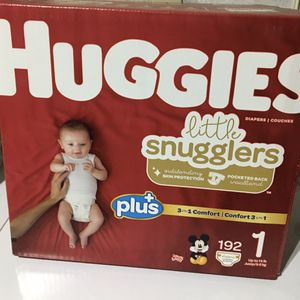 Diapers Huggies Size 1 for Sale in Victorville, CA