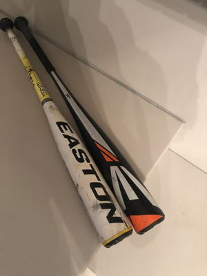Two Easton 30 inch youth baseball bats for Sale in Miami, FL