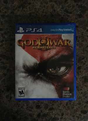 God of War III PS4 for Sale in Raleigh, NC
