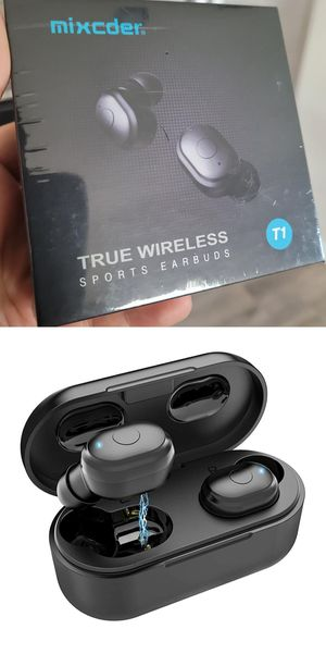 Wireless Earbuds with Mini Charging Case for Sale in Houston, TX