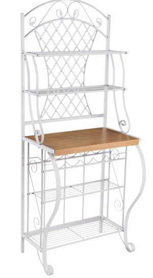 White Bakers / Storage Rack - Like New for Sale in Marina del Rey, CA