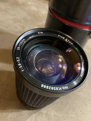 MC Five Star 28-135 mm Lens for Sale in Tucson, AZ