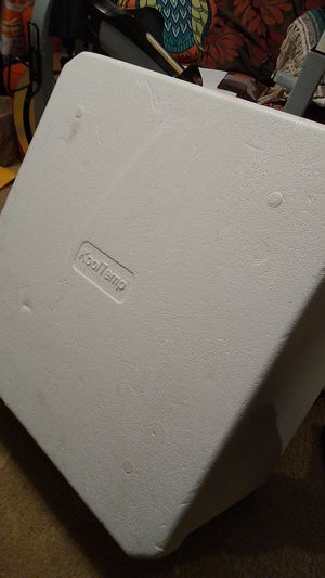 Cool Temp Styrofoam Cooler/Box for Sale in Rex, GA