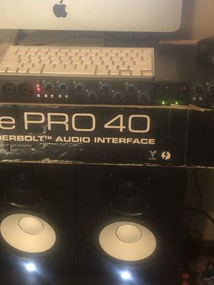 Saffire Pro 40 FireWire/Thunderbolt Audio Interface for Sale in Nashville, TN