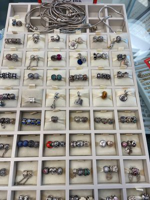 Pandora charms, clips, dangle and bracelets for Sale in Chula Vista, CA
