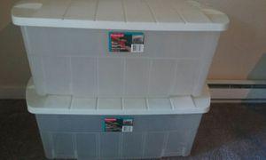 2)28 Gallon totes $7 Each for Sale in Des Moines, WA