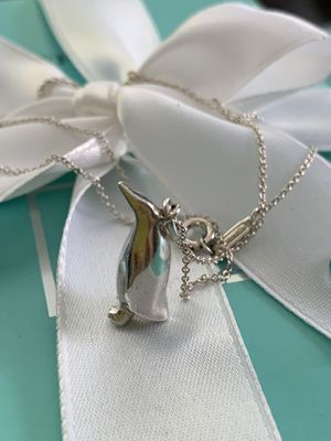 Vintage Tiffany & Co Penguin Charm Necklaces for Sale in Gaithersburg, MD