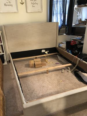 Free Queen Bed Frame. (Project) for Sale in Newport Beach, CA