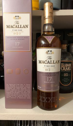 Macallan Fine Oak 17yr for Sale in Chevy Chase, MD