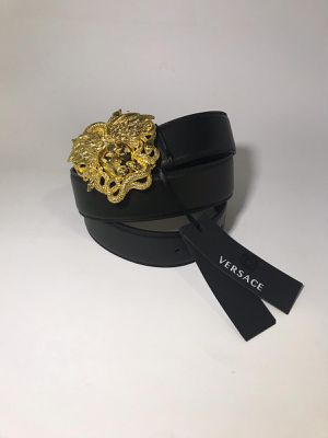 Versace Medusa Snake Leather Belt **Authentic for Sale in Queens, NY