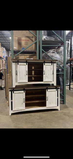Rustic Barn Door Tv Consoles for Sale in Fishers, IN