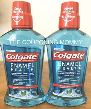 Oral Care Bundle w/ Colgate Enamel Health Mouthwash (( 2 bottles )) for Sale in Clovis, CA