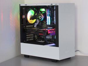 Gaming Desktop Custom Build PC computer Intel Core i7-9700K 16GB RAM (RGB) 1 TB SSD NVIDIA RTX 2070 (8GB) Liquid Cooling NZXT H510 Case for Sale in Rialto, CA