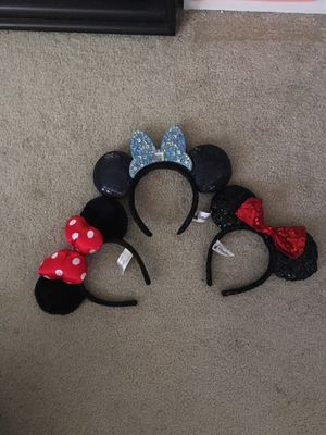 Disneyland Minnie Mouse ears for Sale in Fountain Valley, CA