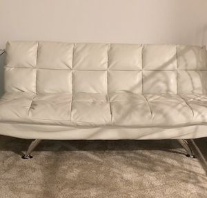 White Leather Futons for Sale in Fresno, CA