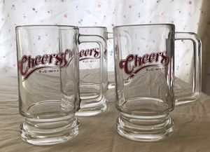 Cheers beer glasses. (Collectible item) for Sale in Chicago, IL
