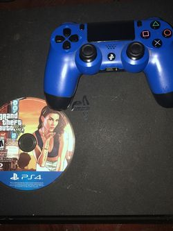 PS4 Slim With GTA V for Sale in Oakland,  CA