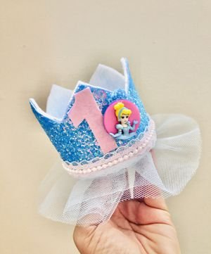 Cindirella inspired birthday crown for Sale in Vienna, VA