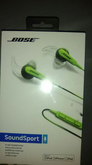 Bose sound sport in ear headphones for Sale in Vancouver, WA