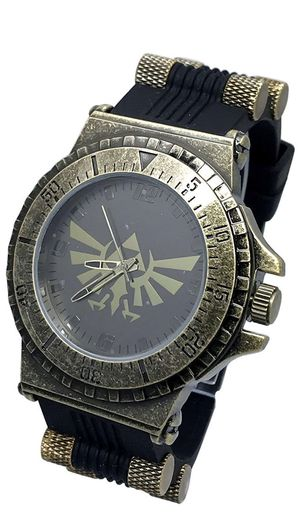 Brand New! Zelda Legend of Tri-Force Rubber Strap Watch for Sale in Westminster, CA