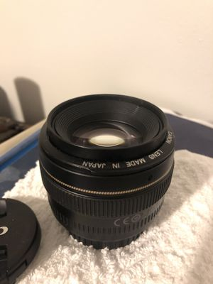 Canon EF 50mm 1.4 lens for Sale in Riverview, FL