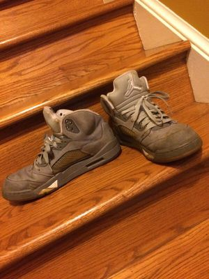 Jordan Wolf Grey 5's for Sale in Fairfax, VA