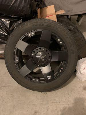 "Rockstar Wheels 20"" with Tires for Sale in Wenatchee, WA"