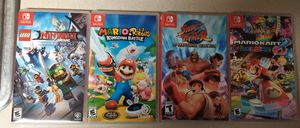 Nintendo switch games for Sale in Methuen, MA