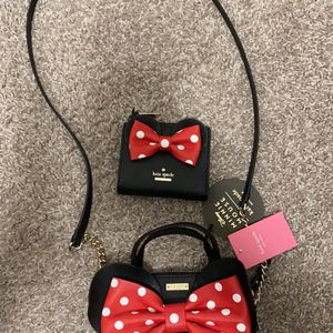 Kate Spade Mini Mouse Bag And Wallet for Sale in Mesa, AZ